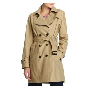 NWT Joe Fresh tan trench coat
